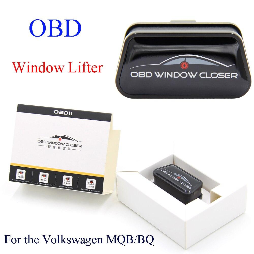 OBD OBD2, elevador de ventana de baja potencia para automóvil para Volkswagen Golf, para MQB BQ, plataforma para coche, ventana, más cerca, efecto de vidrio para VW