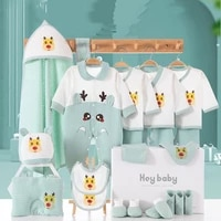 four seasons newborn supplies cuddle quilt set cotton cartoon printing child full moon hundred days gift without box xb100