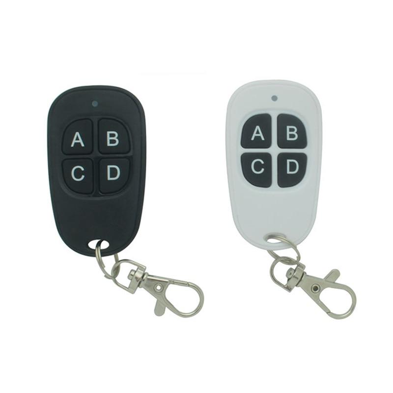 433,92 дублирующий пульт дистанционного управления для гаражных дверей, откидная дверь, обучающий код, неизменяющийся фиксированный код, ключ...