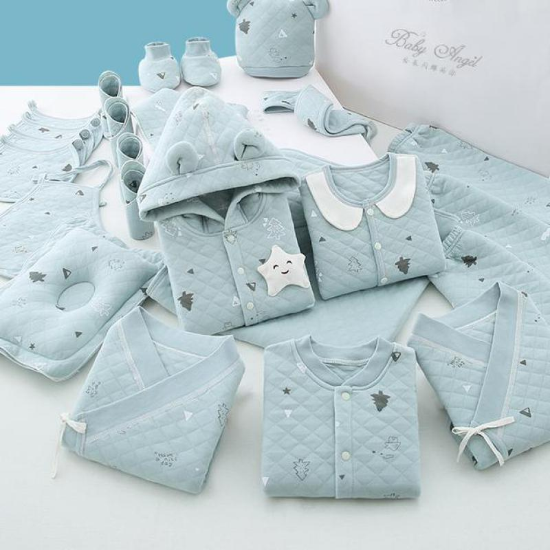 18/22/26pieces/0-3months Spring Newborn Baby Clothing 100% Cotton Kids Clothes Suit Unisex Infant Boys Girls Clothing Set No Box