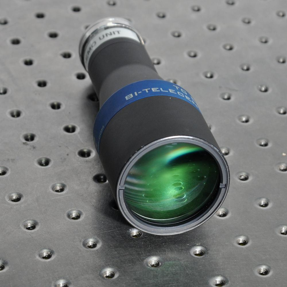 OPTO ENGINEERING TC23036 dual telecentric lens with magnification 0.243 x C mount enlarge