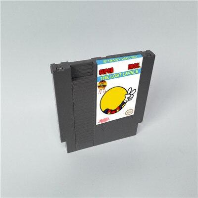 Super Marioed Bros La pérdida de los niveles-72 pines 8 poco cartucho de juego