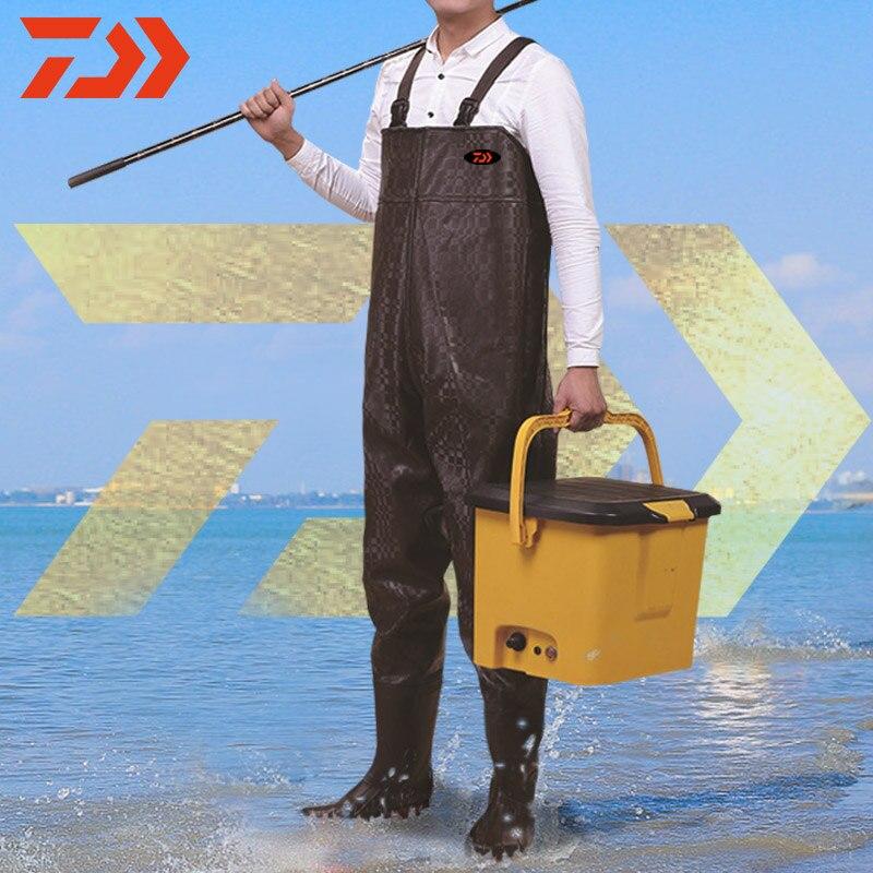 دايوا-أحذية مائية لصيد الأسماك ، ملابس صيد ، مقاومة للماء ، قابلة للتنفس ، مقاومة للاهتراء ، خوض ، بنطلون خوض ، 2019