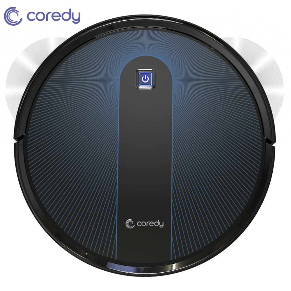 Coredy R650 Robot Vacuum Cleaner For Carpet and Floor Auto Charging Virtual Wall Planned Cleaning Dust Sweeping Home Pet Hair