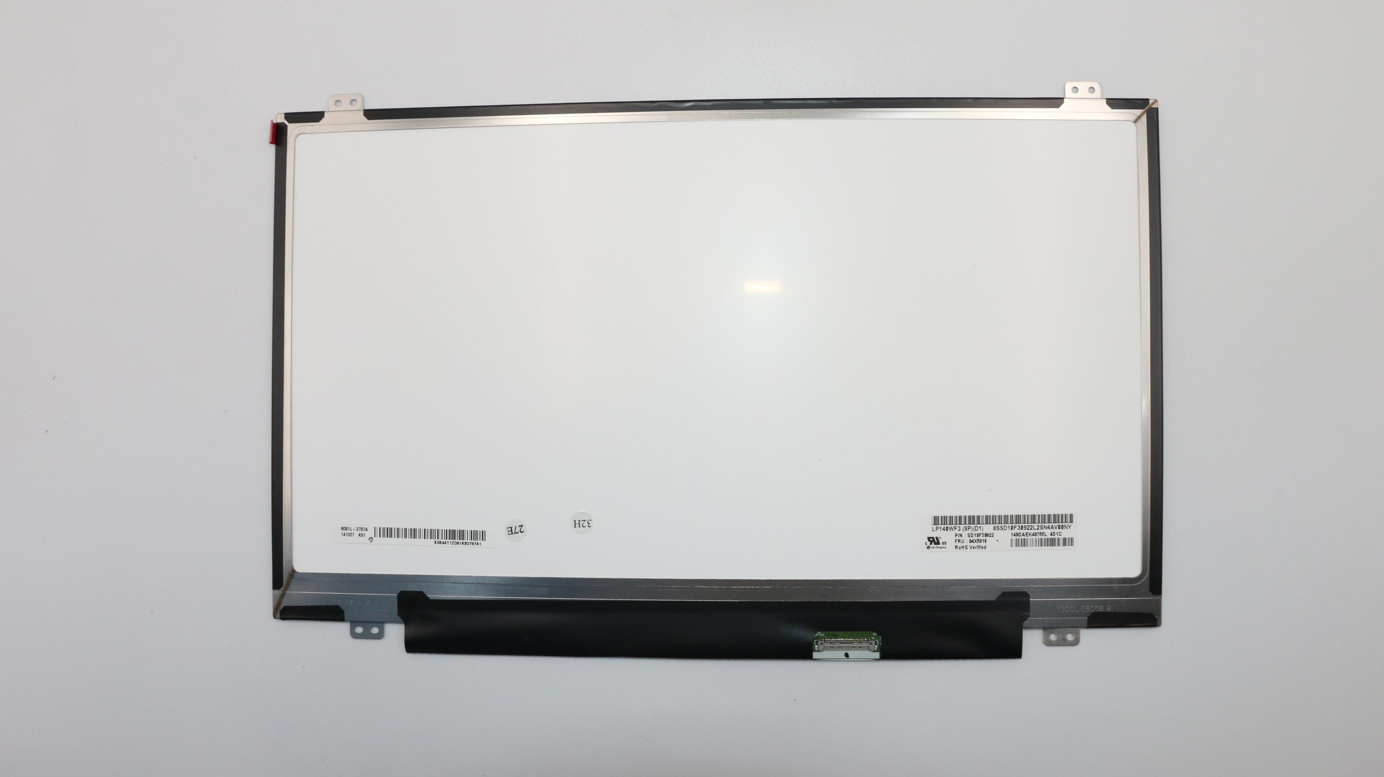 "14 ""nuevo Original ordenador portátil Lenovo Thinkpad T440P pantalla LCD de 30 pin FHD 1920*1080"