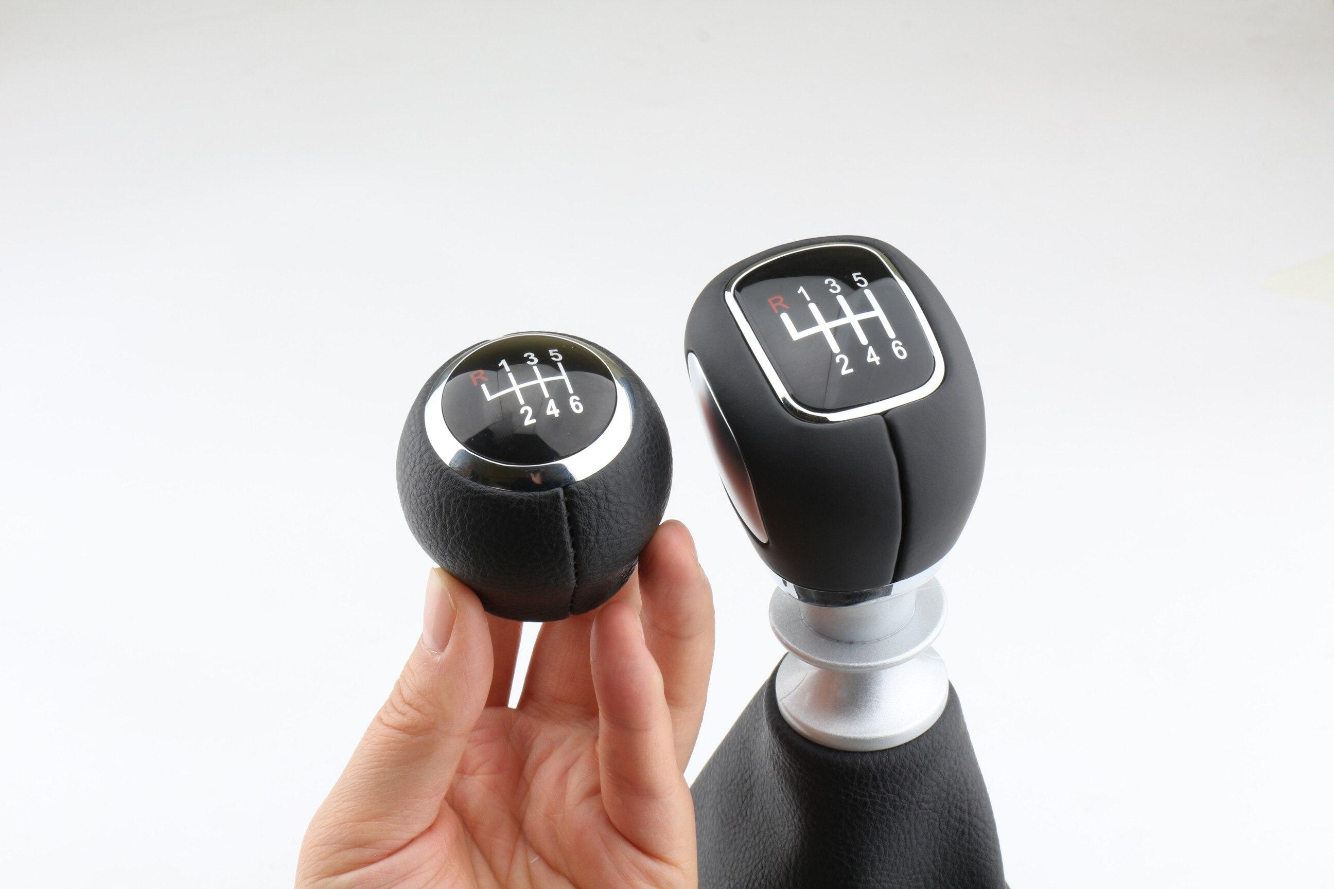 Para Chevrolet Cruze 2009 2010 2011 2012 2013 2014 2015 cuero, para palanca de transmisión manual de 5 velocidades
