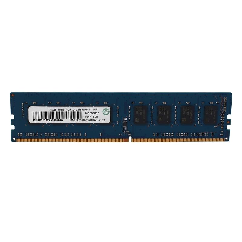 DDR4 8GB سطح المكتب ذاكرة 1RX8 PC4-2133R 213hz 284 دبابيس 1.2V DIMM Ram ل AMD اللوحة