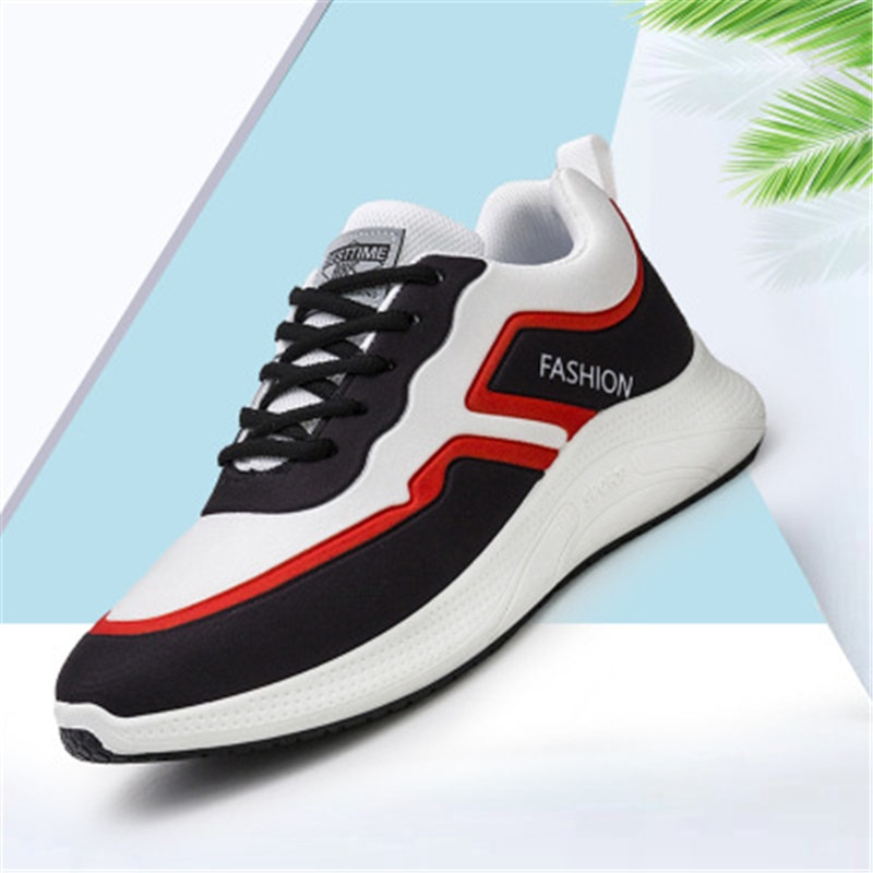 أحذية رياضية الربيع وسادة الرجال احذية الجري تنفس خفيفة الوزن أحذية رياضية الذكور رياضية في الهواء الطلق أحذية مشي