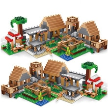 838 pièces château Village série Mysters mon monde fantôme Village blocs de construction briques jouets pour enfants cadeaux