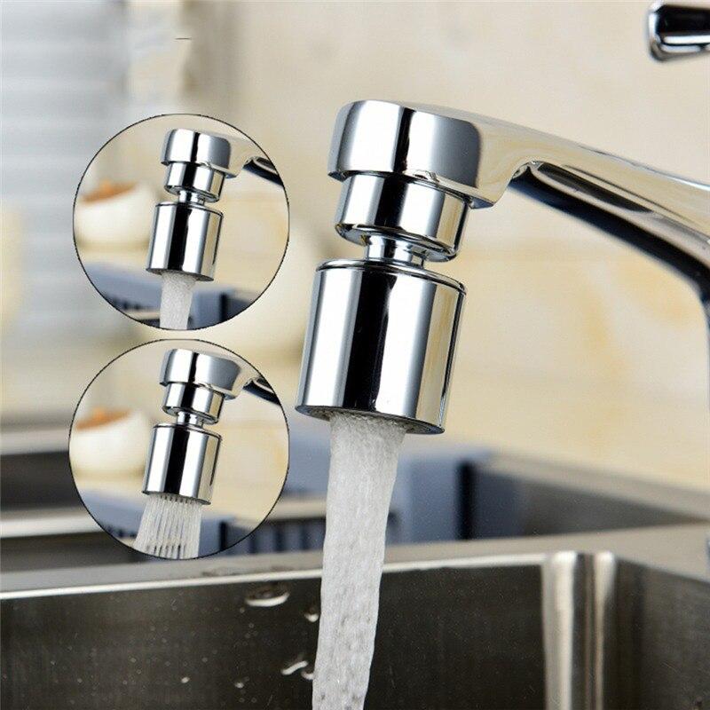 360 градусов Поворотный 2-поток воды кран адаптер смесителя аэратор экономии воды сопло аэратора для крана техники для кухни M22/M24