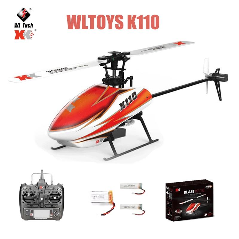 WLtoys-XK K110 طائرة بدون طيار يتم التحكم فيها عن بعد للأطفال ، طائرة بدون طيار صغيرة يتم التحكم فيها عن بعد 2.4G 6CH 3D 6G ، محرك بدون فرش