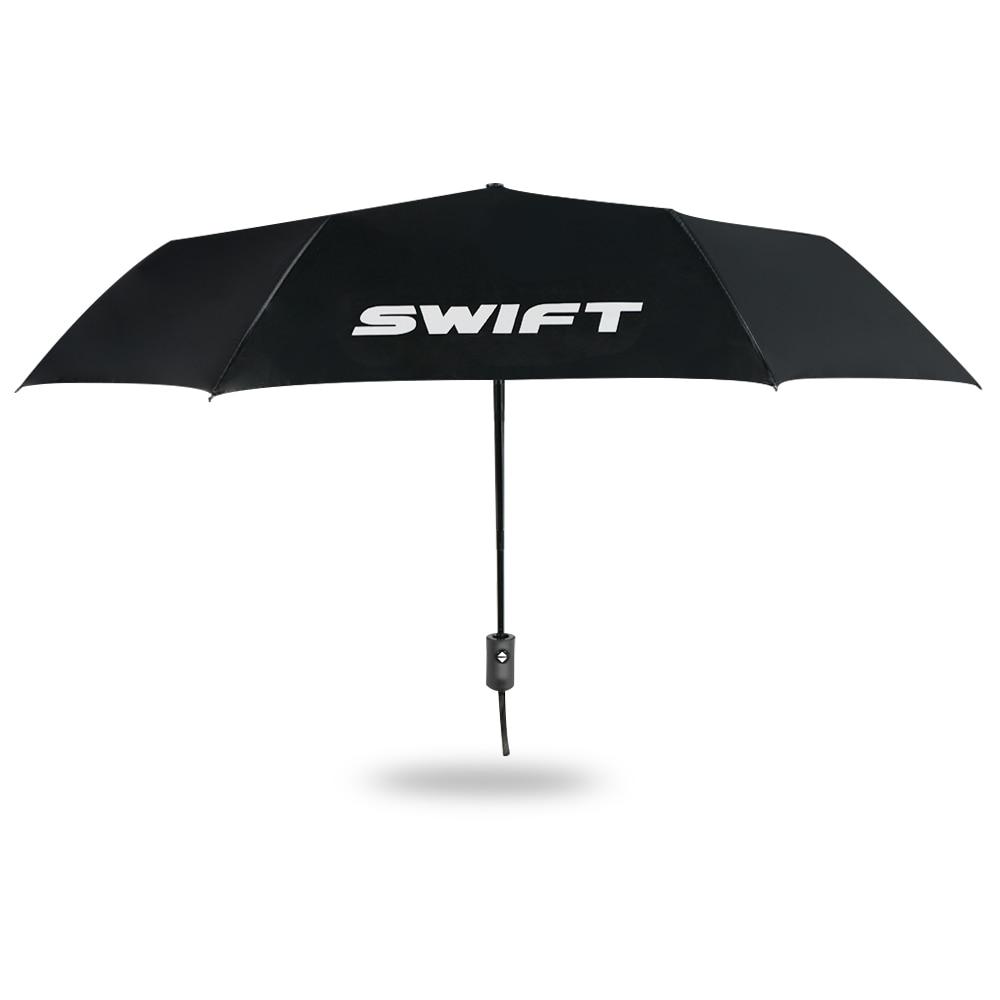 ¡Nuevo! Paraguas de soporte de coche Paraguas largo portátil de tres asas para Suzuki Swift, accesorios de lujo