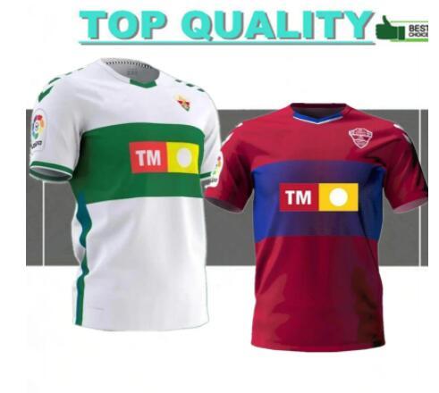 Camisetas de fútbol de ELCHE CF, camisetas de fútbol de casa, fuera...