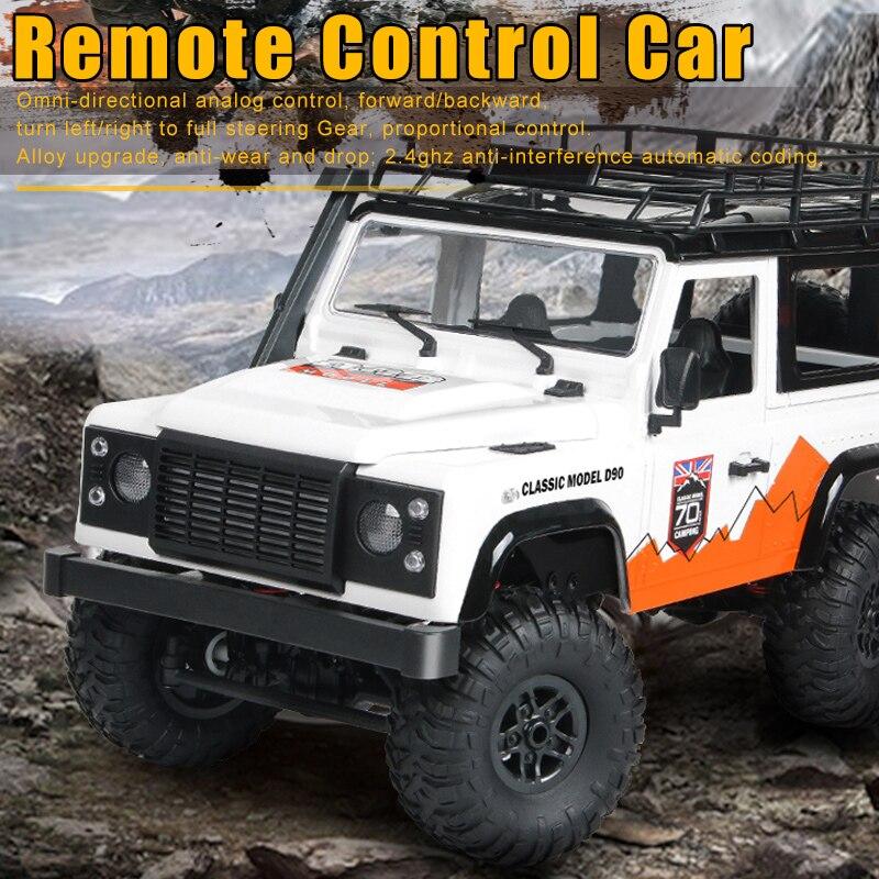 2.4G 4WD 1:12 Remote Control Car Rock Crawler RC Truck Buggy Off-Road Auto Toy BM88