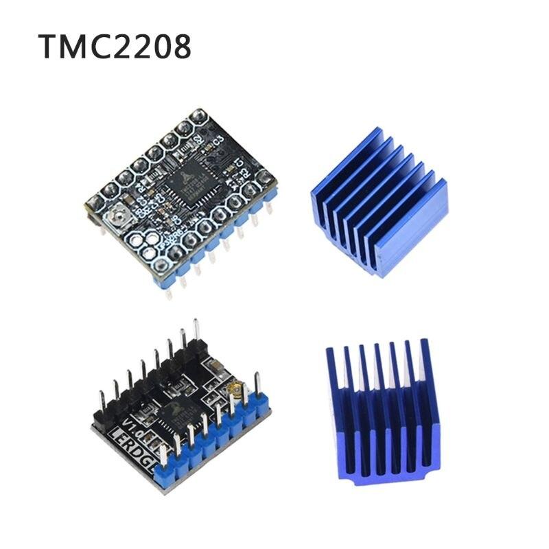 TMC2100 V1.3 TMC2130 TMC2208 Motor paso a paso controlador silencioso excelente protección de estabilidad para piezas de impresora 3d