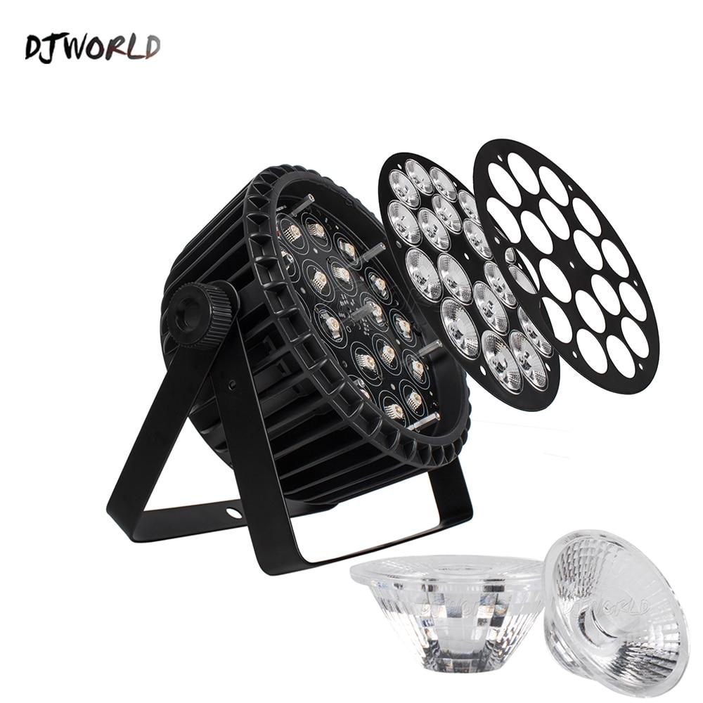 4шт% 2Flot Алюминий LED Par 18x18W% 2F18x12W RGBWA% 2BUV Light DMX 512 Control Stage Effect Lighting For Dj Disco Theater Party Lights
