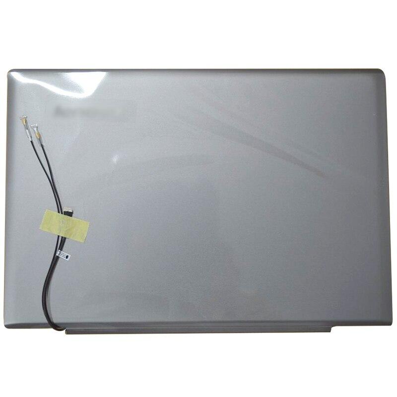 غطاء خلفي LCD للكمبيوتر المحمول ، أصلي جديد لهاتف Lenovo IdeaPad U430 U430P U430T, غطاء خلفي LCD غير يعمل باللمس/غطاء خلفي علوي 90203118 فضي/أحمر