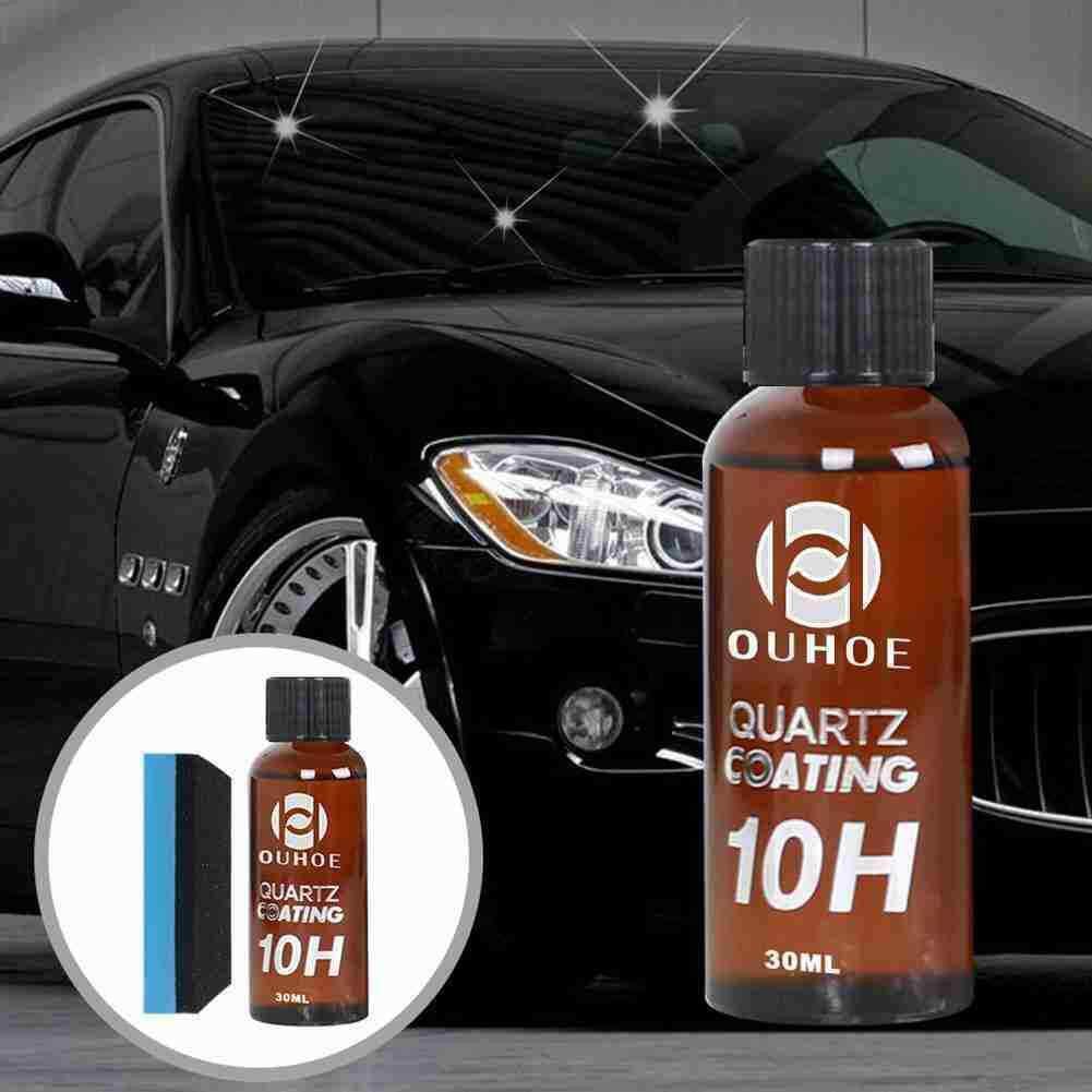 Супергидрофобное покрытие для автомобильного стекла, твердость 10H, 30 мл, жидкое покрытие для автомобиля, долговечное покрытие для защиты кр...