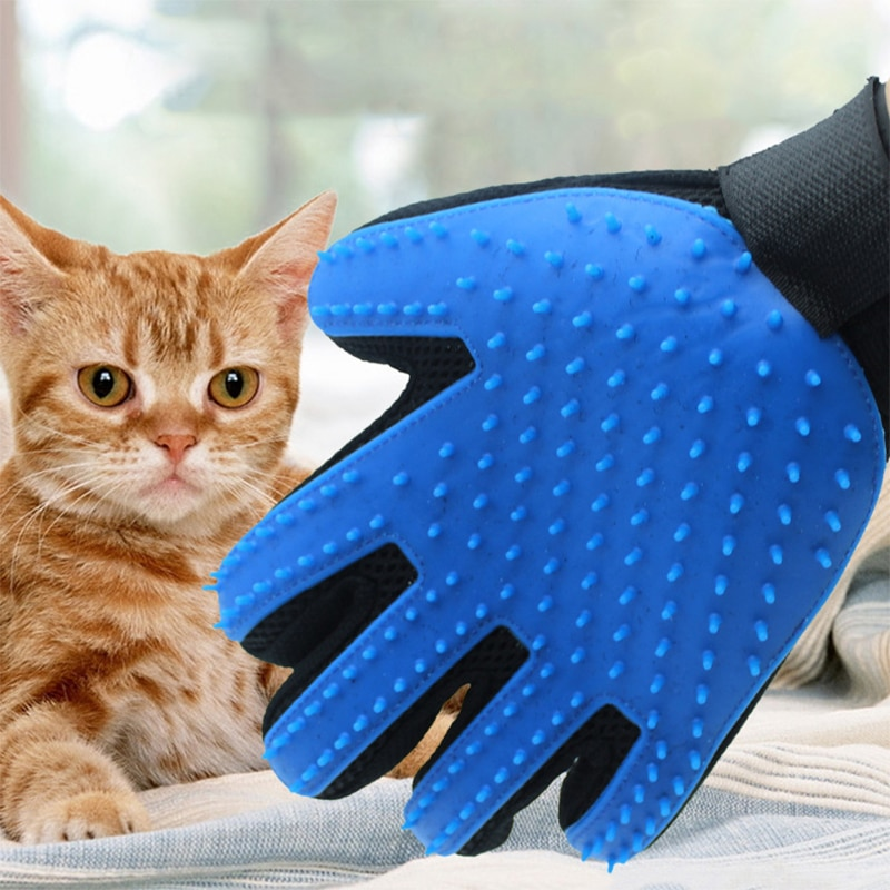 AliExpress - Pet Silicone Dog Brush Comb Gloves, Pet Cleaning Massage Beauty Supplies Gloves Cleaning Cat Hair Gloves Accessories
