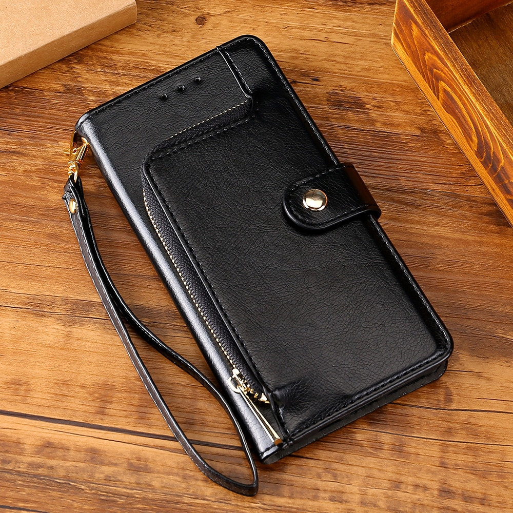 Flip case Leather Cover For Redmi 10x 8A 4X 5 6 Note 4 4X Note 7 8 9 Pro 8T For Redmi 9 9A 5A card S