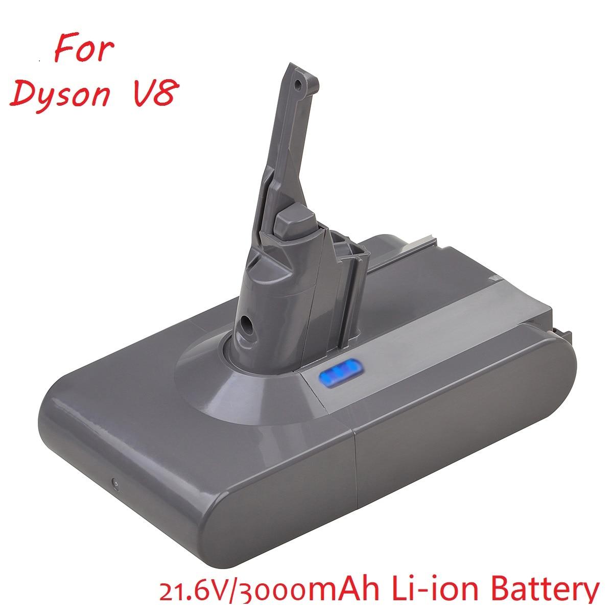 Batería de iones de litio V8 de 3000mAh y 21,6 V para...