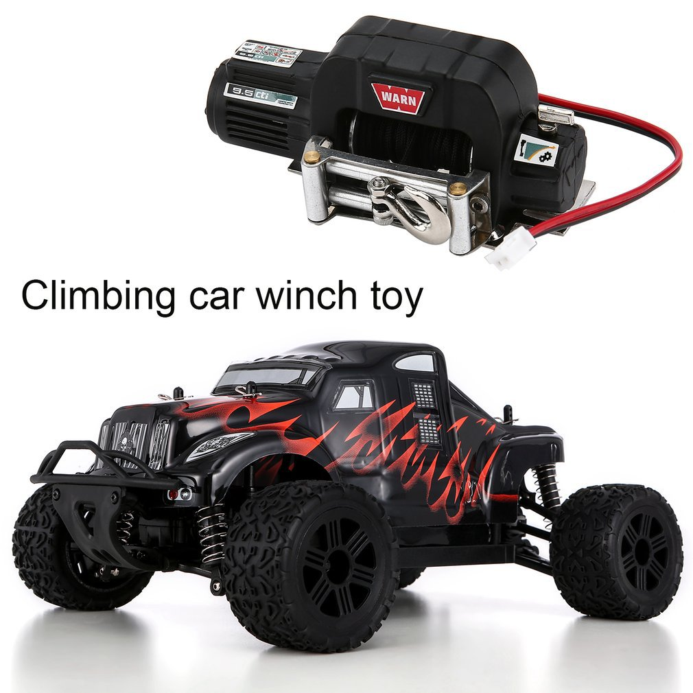 1/10 Simulation RC Climbing Car Radio Control Full Metal Winch for 1/10 TRX-4 Axial SCX10 RC4WD D90 D10 Car Truck enlarge
