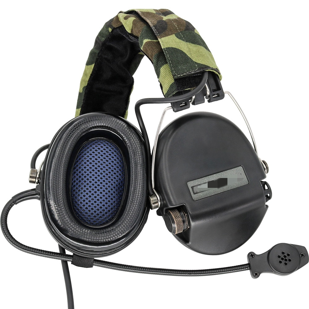 Electronic Sordin Tactical Headset Hunting Earmuffs Airsoft Military Standard Pickup Noise Reduction Shooting Headphone BK enlarge