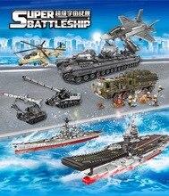 XingBao Compatible avec les briques militaires lepins le transporteur aircraft td WW2 Kit de modèle de réservoir tigre assembler des blocs de construction jouets pour enfants