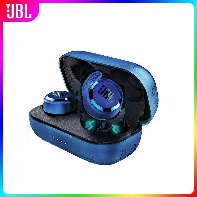 الأصلي JBL T280 TWS سماعة لاسلكية تعمل بالبلوتوث سماعة واقي أذن رياضي عميق باس سماعات مقاوم للماء سماعة مع علبة شحن