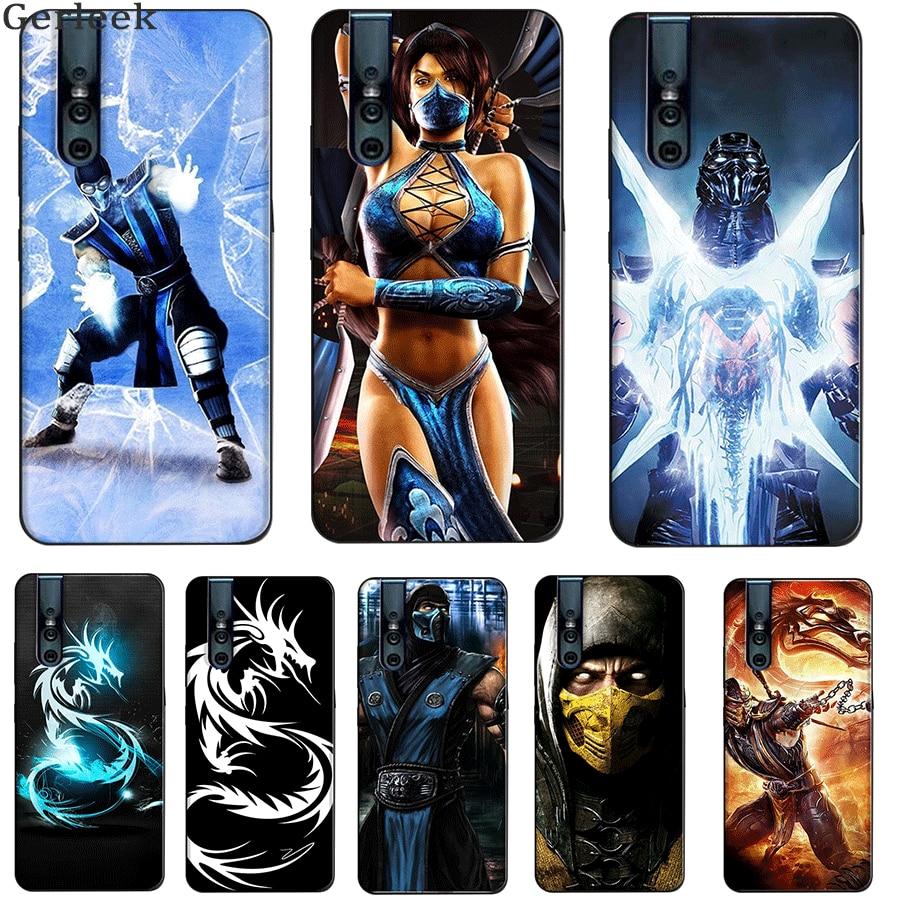 Silicone Tpu Phone Case for VIVO NEX 3 S5 IQOO Pro-5G X30 Pro U3 V15 Pro V7Plus Y79Scorpion Sub Zero Mortal Kombat x Cute
