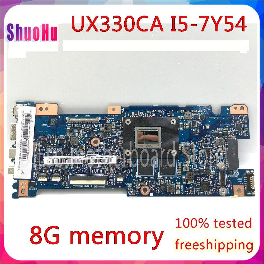 KEFU UX330CA ل ASUS U330C UX330 UX330C UX330CAK اللوحة المحمول I5-7Y54 اختبار GM العمل 100%