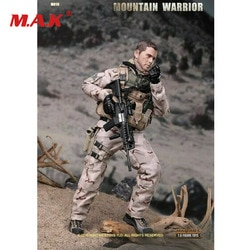 "Mini times brinquedos m019a 1/6 montanha guerreiro 12 ""figura collectible masculino modelo de brinquedo"