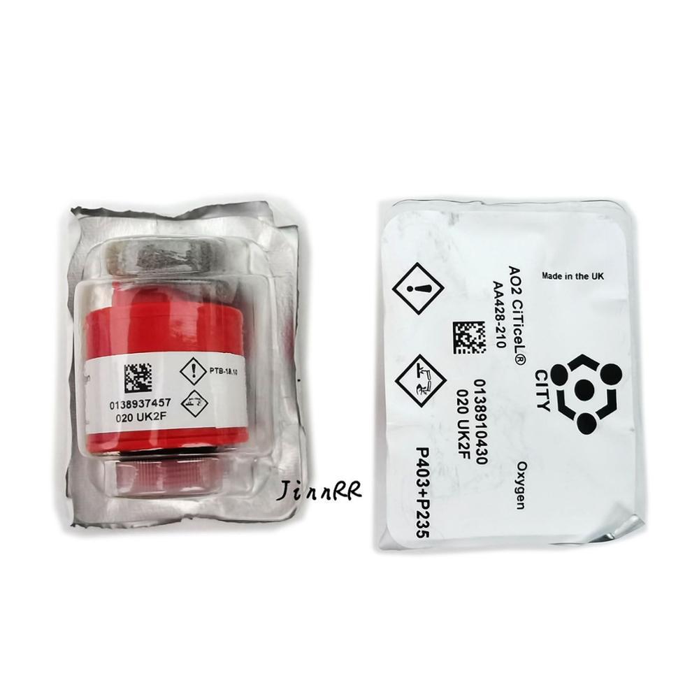 235 Uds AO2 100% Nuevas existencias el Reino Unido ciudad de gas de oxígeno sensores AO2 ptb-18.10 ao2 CiTiceL sensor de oxígeno ao2 ptb-18.10 AO2 enviar DHL