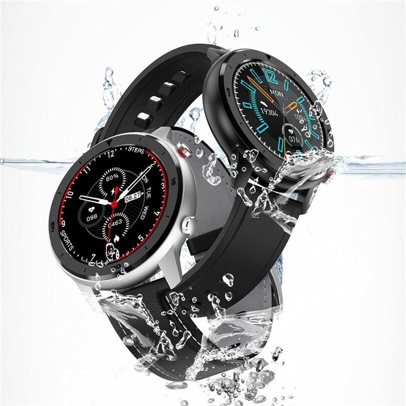 DT78 ساعة ذكية النساء الرجال IP68 مقاوم للماء كامل شاشة تعمل باللمس الرياضة الأعمال Smartwatch سوار لياقة بدنية relogio masculino