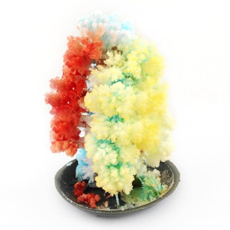 Набор для выращивания кристаллов, игрушки, оригинальное красочное волшебное дерево, бумага для рукоделия, бумажное дерево, подарки, новинка...