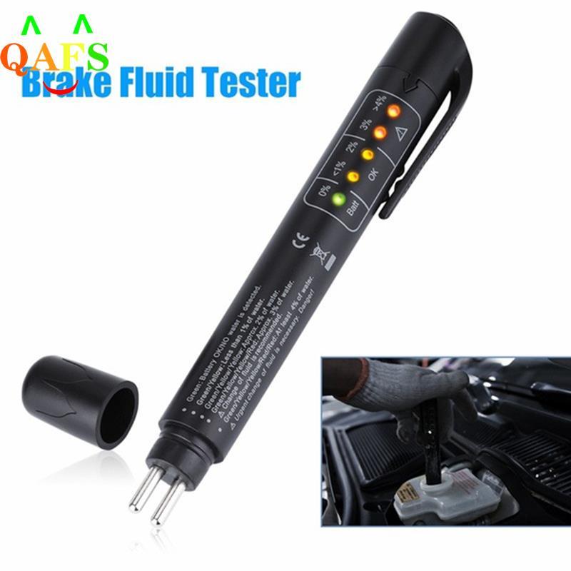 Автомобильный тестер тормозной жидкости и масла, ручка для обнаружения, светодиодный индикатор, автомобильный электронный инструмент для ...