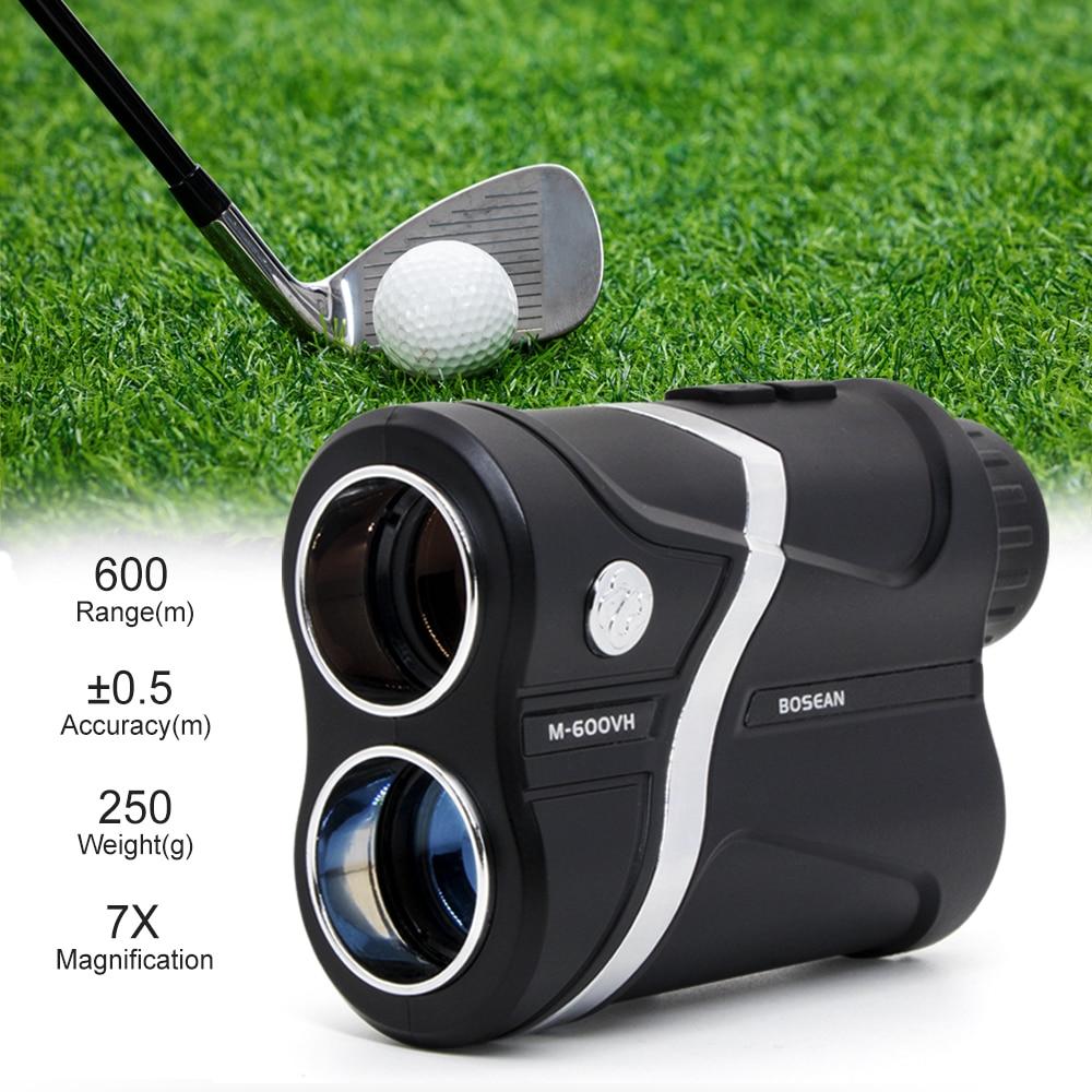 Bosean Golf Rangefinder Slope Correction Vibrate Pin-seeker Flag-Lock 5 Modes for Hunting USB Recharge Laser meter distance