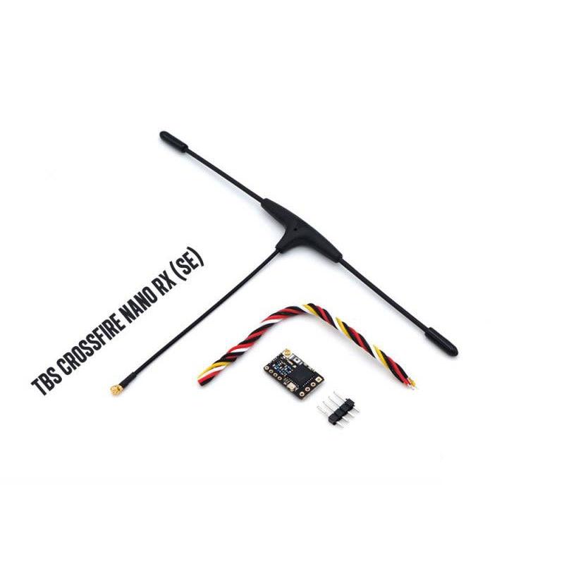 جهاز استقبال teamblackالأغنام TBS CROSSFIRE NANO RX SE الأصلي مع هوائي T V2 الخالد لطائرة RC بدون طيار FPV سباق طويل المدى