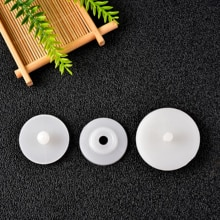 20Sets 20/25/30/35mm White Plastic Doll Joints Dolls Accessories For Stuffed Toys Teddy Bear Making