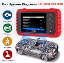 LAUNCH CRP129X OBD2 сканер на базе Android OBD2 сканер 4 система диагностики сброса масла EPB/SAS/TPMS автомобильный инструмент