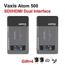 Vaxis ATOM 500 SDI 500ft Беспроводная система передачи видео 1080P HD SDI/HDMI Двойной интерфейс изображения видео передатчик приемник