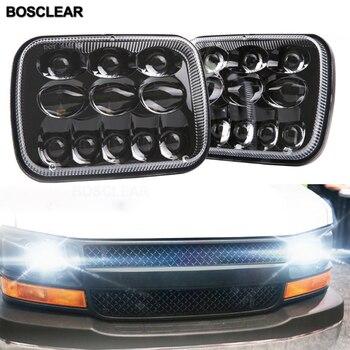 LED Scheinwerfer für Jeep Wrangler YJ Cherokee XJ GMC Savana 1500 2500 3500 Ford F550 F350 F250 E150 Chevrolet Express 3500 1500