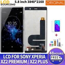 """5,8 """"LCD FÜR Sony Xperia XZ2 Premium LCD Display Touchscreen Bildschirm Digitizer Für Sony XZ2 Premium LCD Ersetzen mit Schutz"""