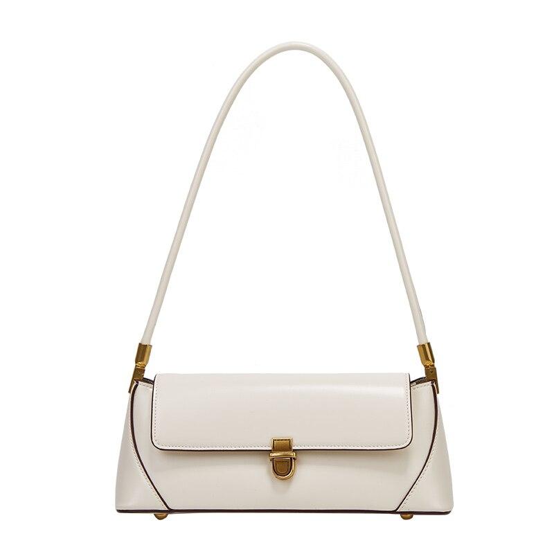 حقيبة يد جلدية صغيرة مع قفل للنساء ، حقيبة باغيت ، حقيبة يد مصممة ، جودة عالية