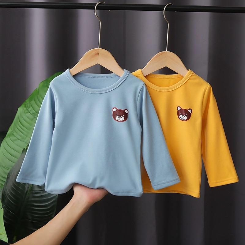 Детская одежда 2021 сезон весна осень; Новинка; Хлопок; Теплый жакет для девочек и мальчиков; Пижамы для девочек, комплект с принтом; Одежда для маленьких девочек; Пижама От 1 до 5 лет|Комплекты пижам| | АлиЭкспресс