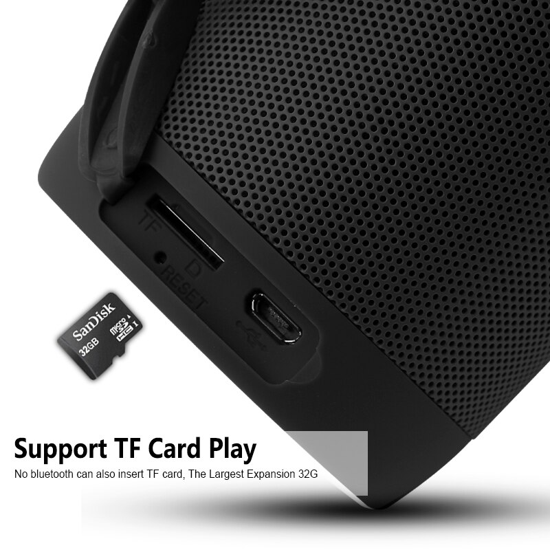 T2 Wireless Bluetooth-compatible Speakers Waterproof Portable Outdoor Loudspeaker Mini Column Box Speaker  for iPhone Xiaomi enlarge