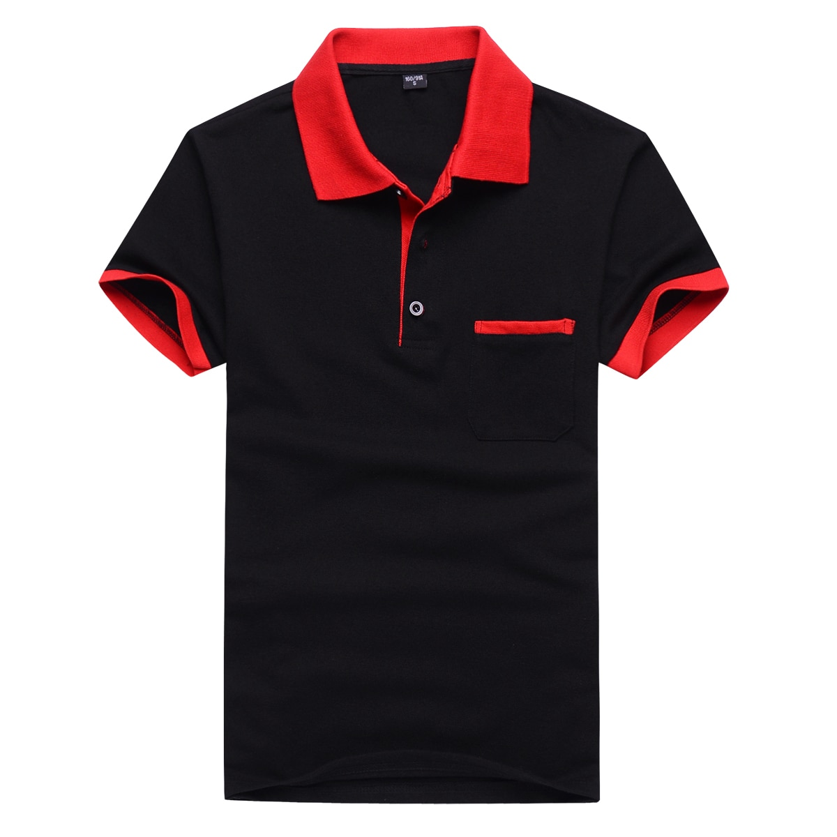 Quick-drying Polo shirt men's summer stitching men's shorts sleeves Polo business clothes luxury men's T-shirt brand PolosMTP129