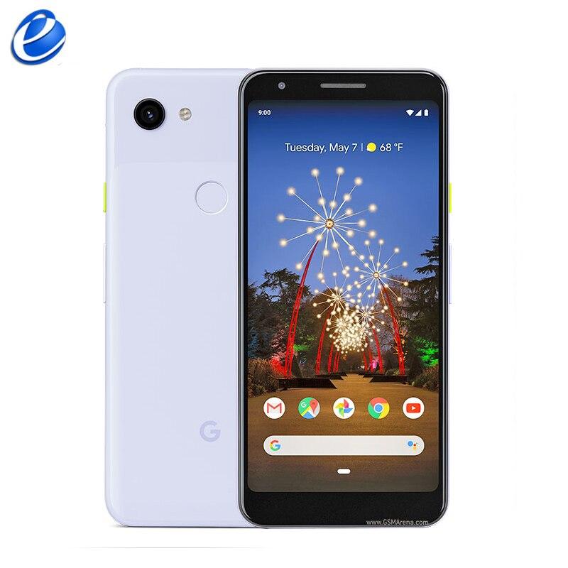 Original de Google Pixel 3A/3A XL 4GB 64GB Smartphone 4G LTE 5,6 pulgadas/6 0 pulgadas Octa Core 12.2MP 8MP NFC huella dactilar teléfono celular