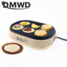 DMWD Elektrische Eier Geröstet Hamburger Maschine Rote Bohnen Kuchen Crepe Maker MINI Pie Pfannkuchen Backen Spiegelei Omelett Pfanne EU