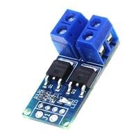 5pcs dc 5 36v 15a 400w mos fet trigger switch drive module pwm regulator control panel for arduino